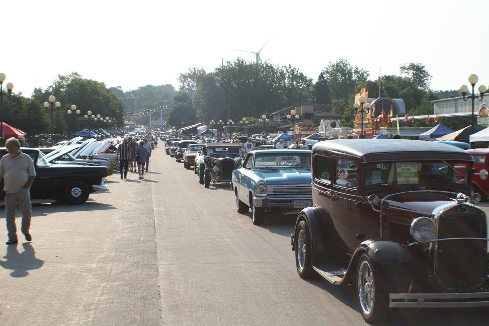 Good Guys Annual Car Show in Des Moines, IA - June 2012. All hot ...