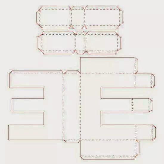 Letras 3D; Alfabeto 3D; Acetato, eva, mdf, Papelao | letras ...