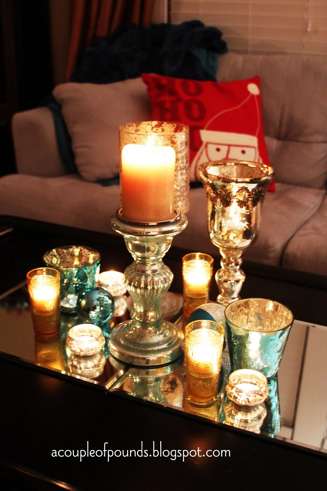 Christmas Coffee Table Decor My House Decorating