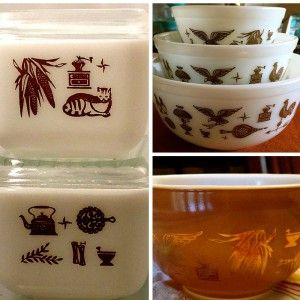 Vintage Pyrex 101: A Guide to Pyrex | Estate Sale Blog #vintagekitchenware