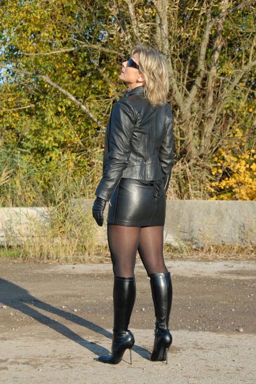 Thigh High Boots  Projects To Try  Leather, Leather -7745
