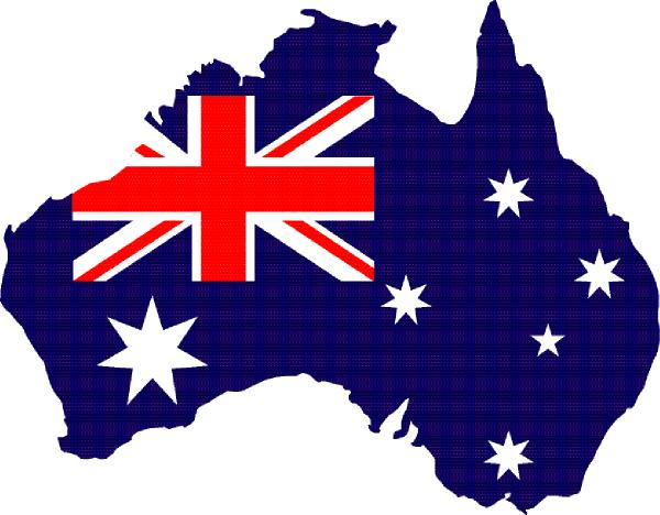 1314736524852801832australia Outline With Flag Svg Hi Png 600 468