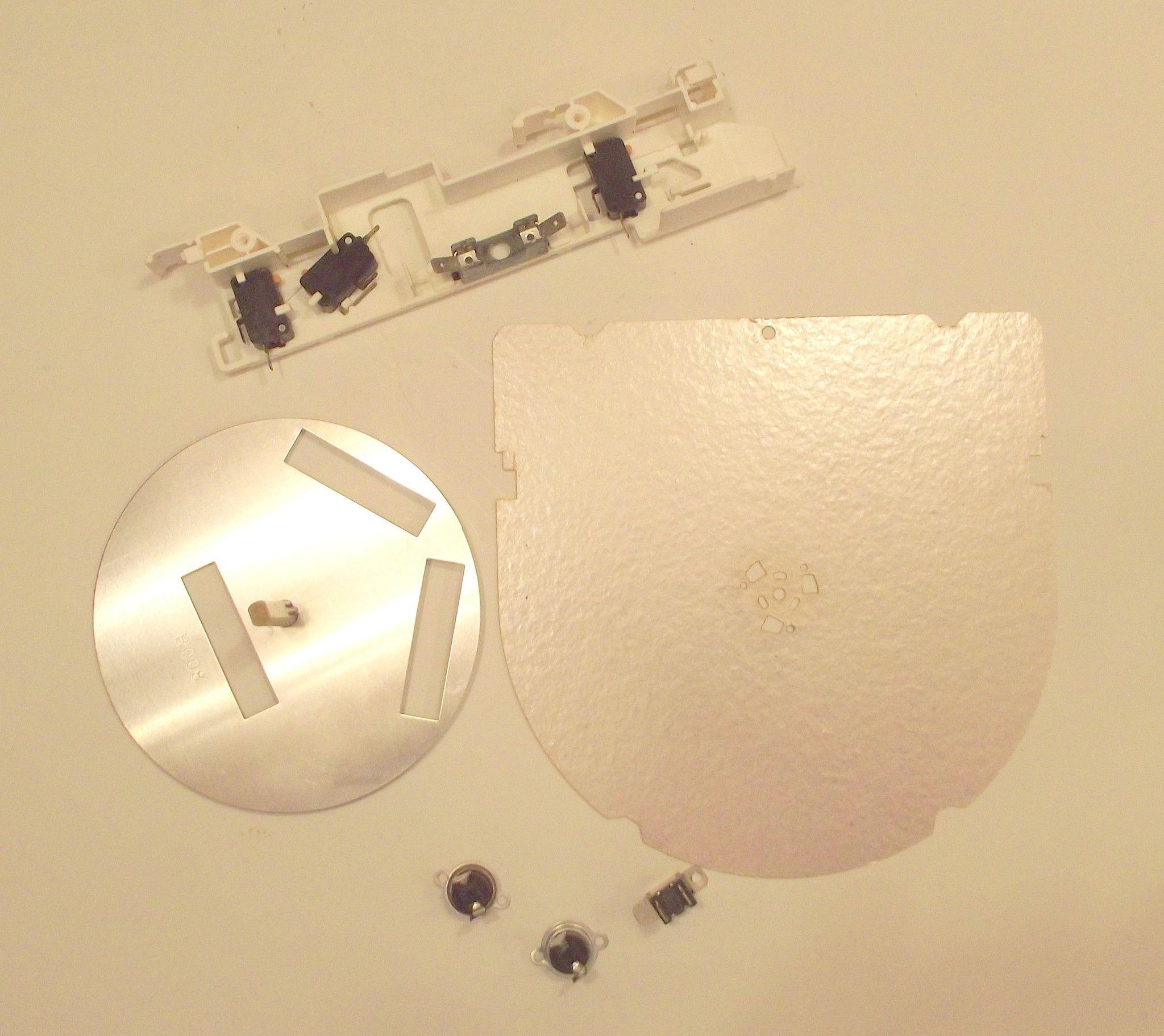 Fcovpb012mryoa 46 1730108 3 Rthm B005mre0 Sharp Microwave Parts Pack