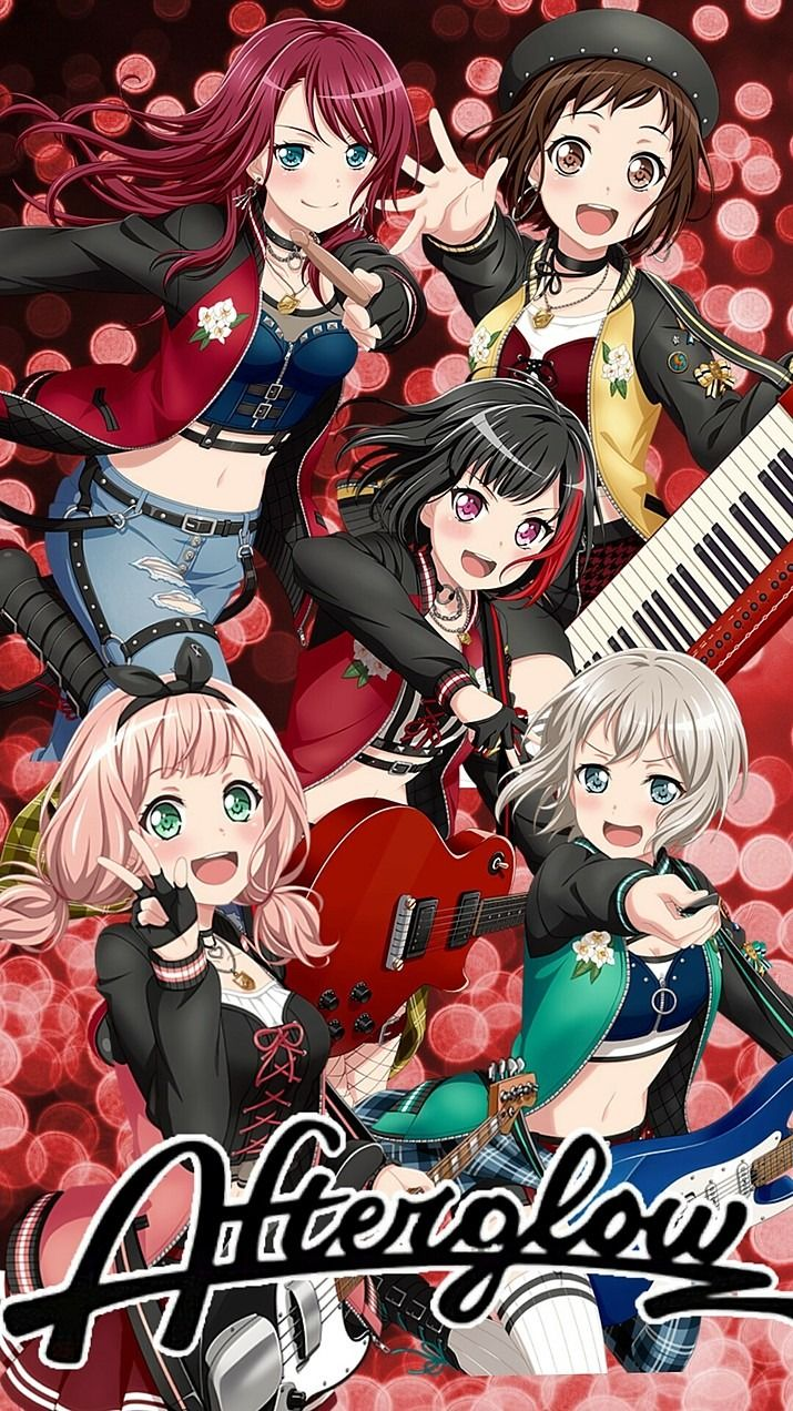 Afterglow 壁紙 完全無料画像検索のプリ画像 カワイイアニメ