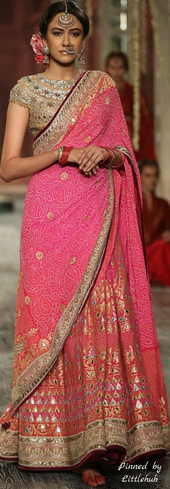 Pinterest: || Tarun tahiliani lehenga @ icfw 2016 | That Eastern ...