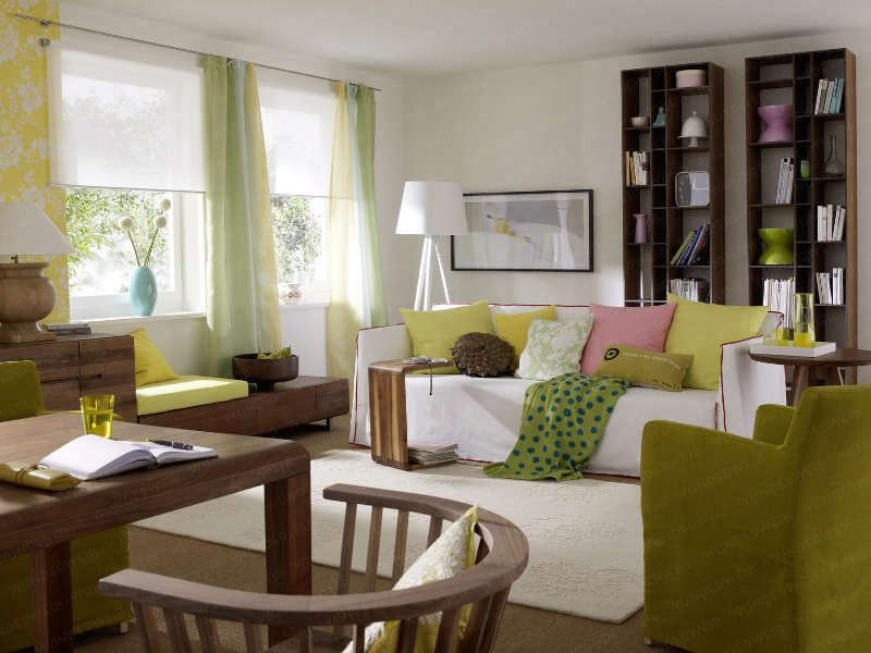 Sonnige Details im Wohnzimmer Alle Wunderweib-Inhalte 5/6 Pinterest - Wohnzimmer Design Grun