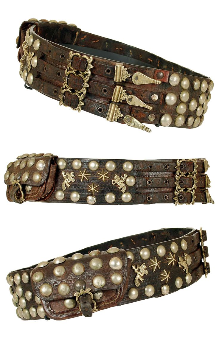 Hand Tooled Leather Gaucho Belt From The Pampas In North Eastern Argentina The Belt Is Decorated All Over Leather Jewelry Diy Belts For Women Leather Art