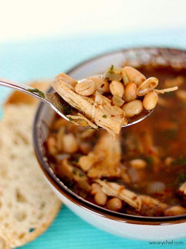 White Chili - An easy, family-friendly dinner idea!
