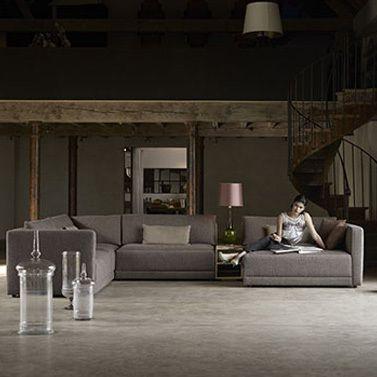 Houweling Interieur - Piazza hoekbank   living room   Pinterest