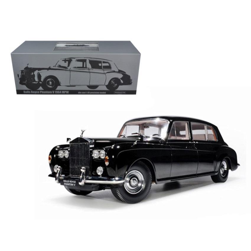 RHD Rolls Royce Phantom V MPW 1964 gun metal Modellauto 1:18 // Paragon