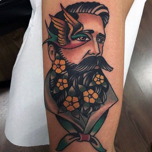 Top 103 American Traditional Tattoos 2020 Inspiration Guide Traditional Tattoo Man Tattoos For Guys Traditional Tattoo Woman