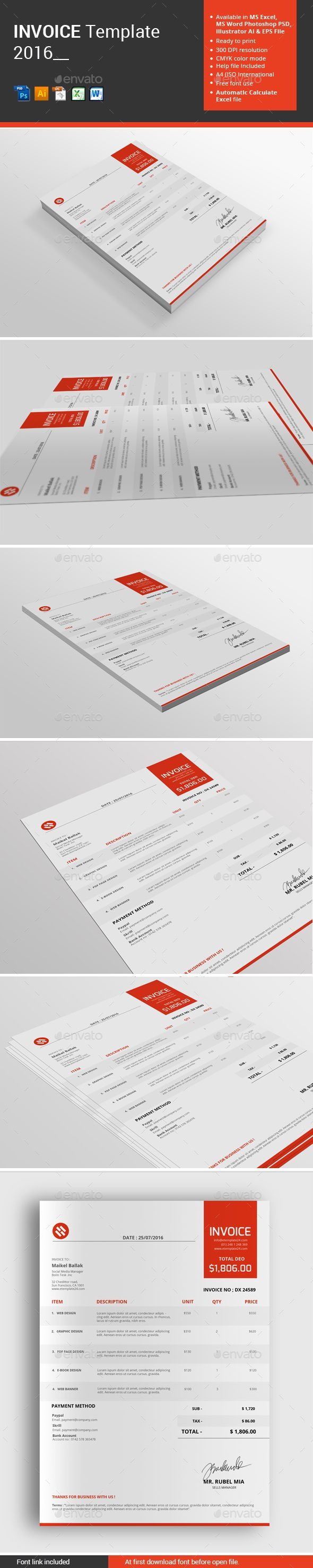 proposal template for word%0A Invoice Template
