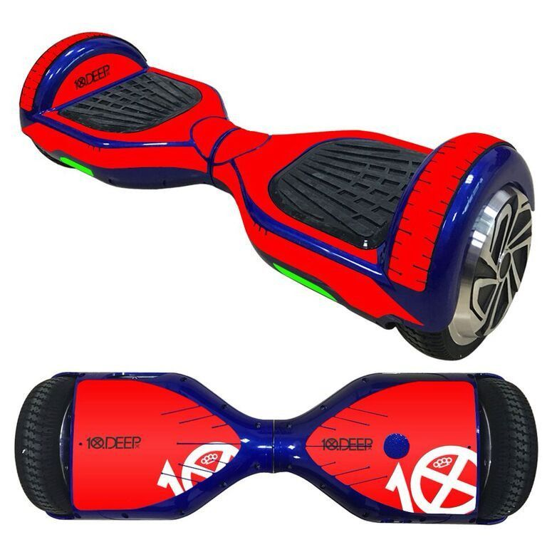 10 Deep overboard hoverboard 6.5 inch decal skin Self Balancing Scooter
