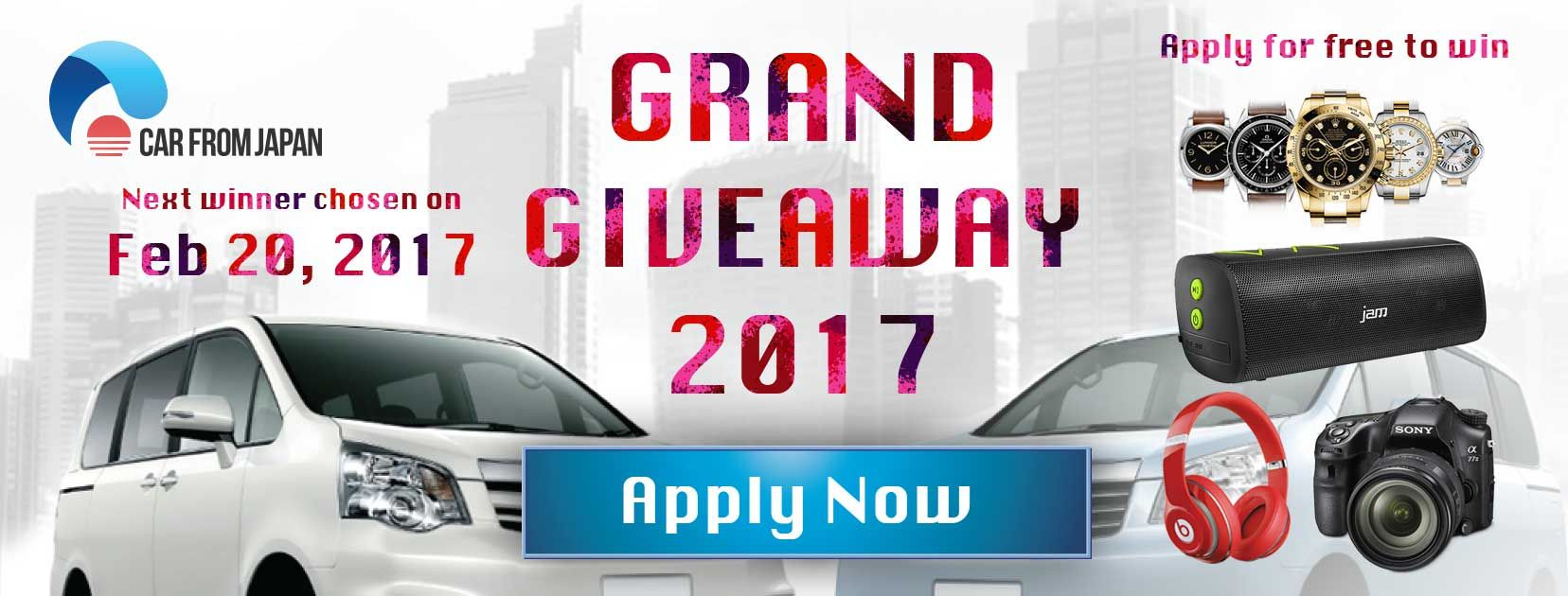 Car Giveaway 2017 >> Win A New Car 20 000 Open Worldwide Sweepstakes Giveaway