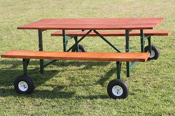 Industrial Picnic Table Kit By DDMachinery On Etsy, $249.00