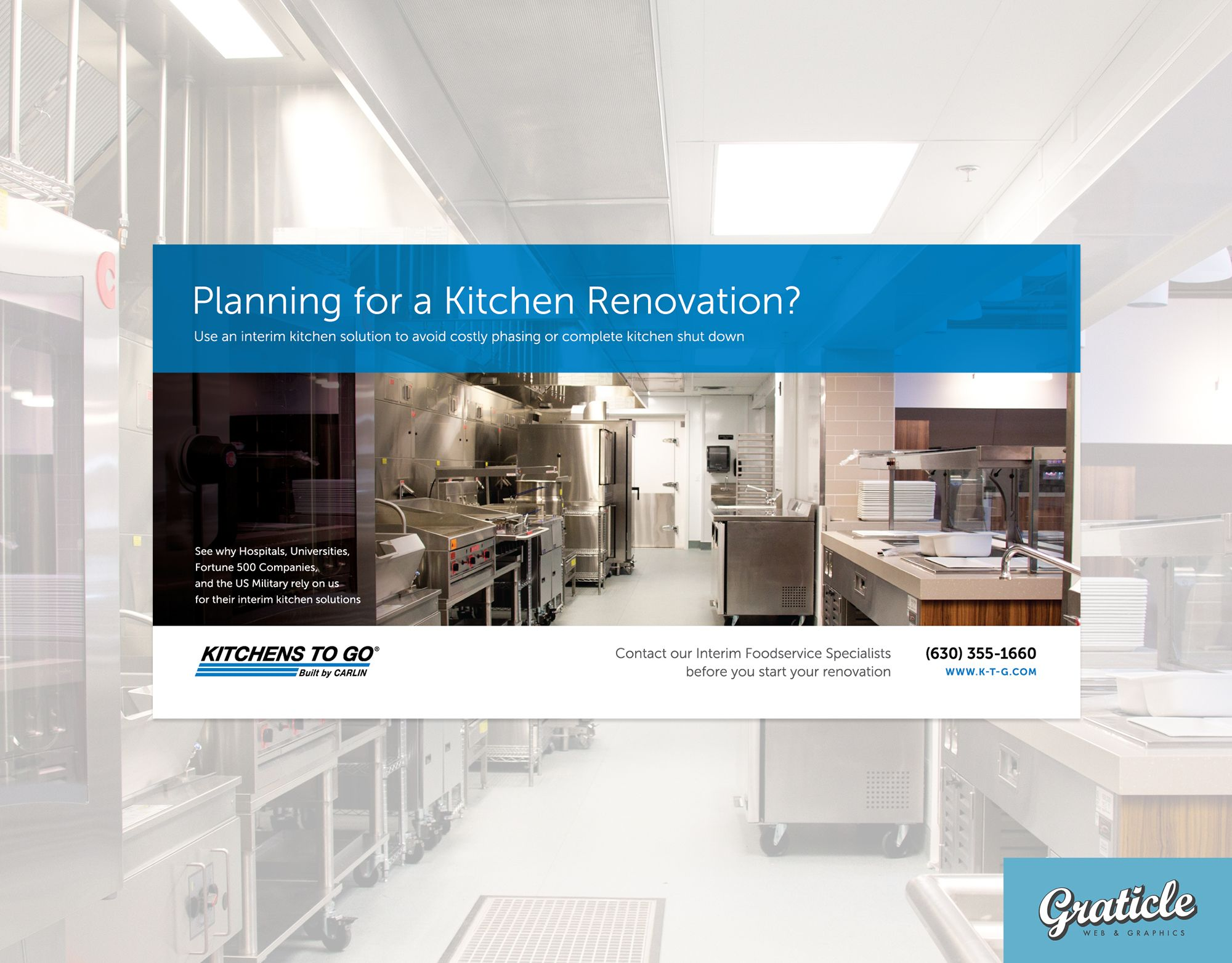 Kitchens To Go Magazine Advertisement Design Graticle