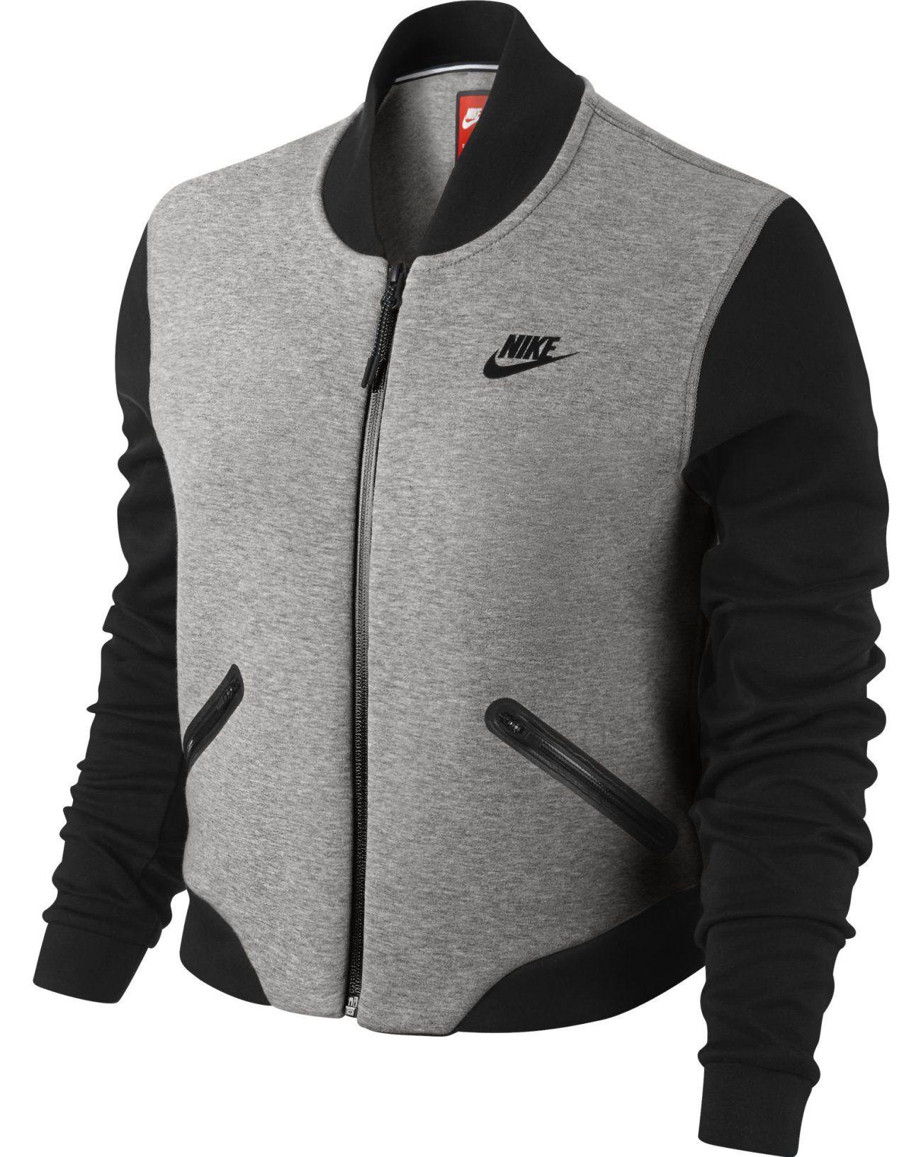 Nike Sportswear Tech Molleton Cape Femme Veste, Noir Noir