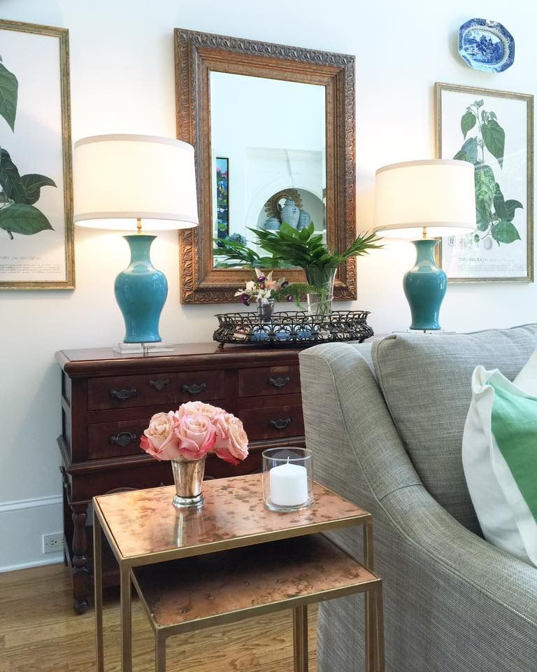Great Way To Style Hallway Table Maggie Griffin Designs Mgd