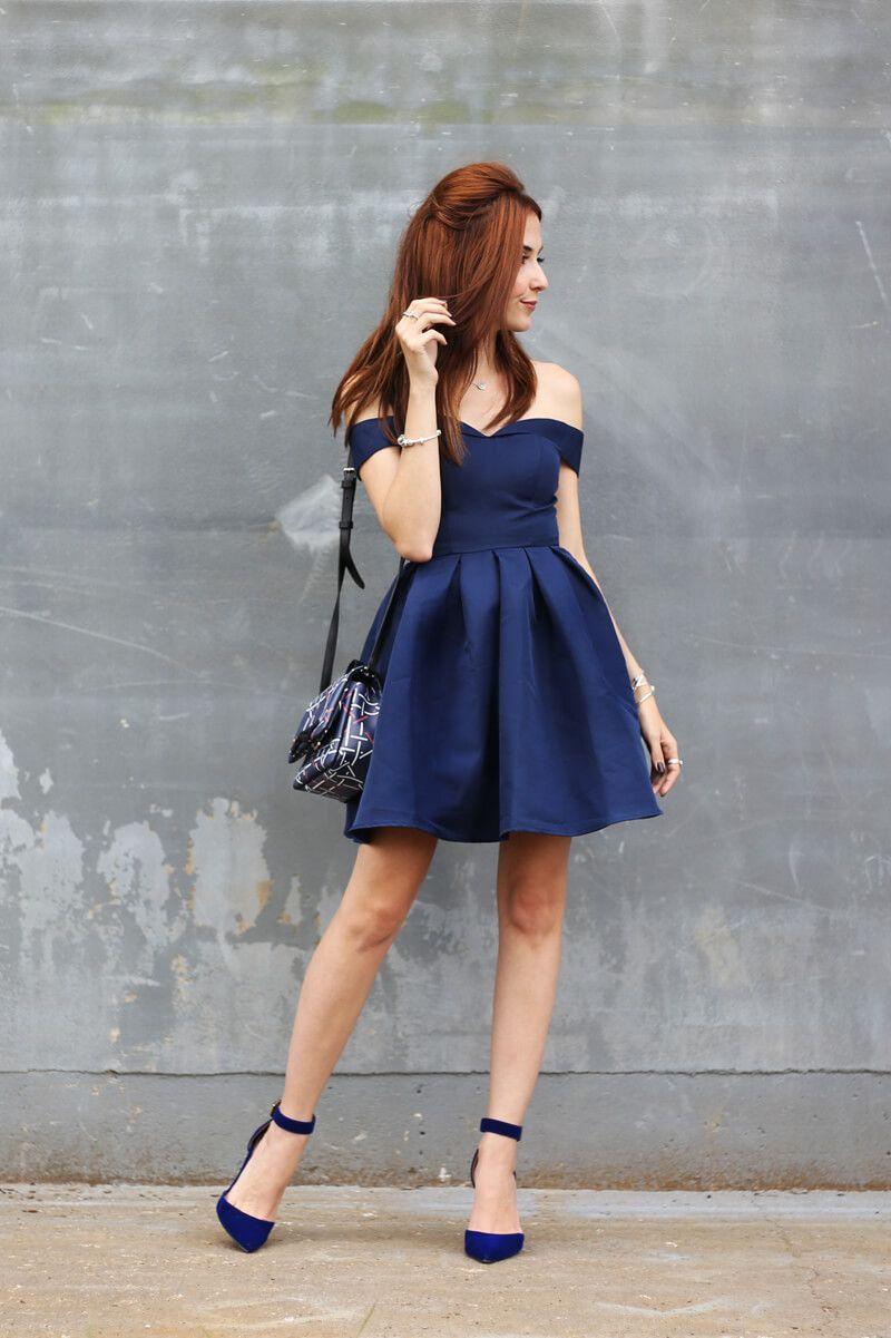 2d4a59a3f Vestido curto rodado: 60 modelos para você compor looks charmosos ...