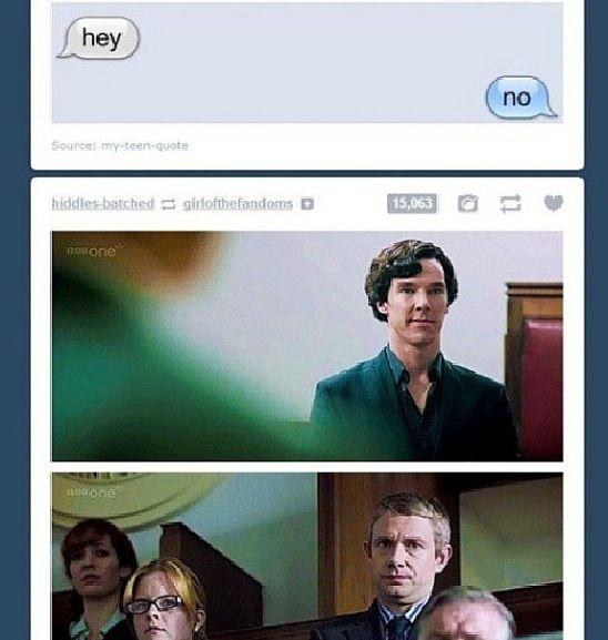 Sherlock texts