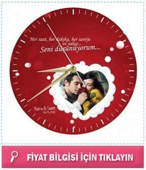 Sevgiliye Hediye Fikirleri Hediyeler Duvar Saati Sevgililer
