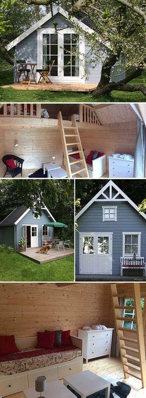 Ferien im Gartenhaus: Das schönere Camping #cottagegardens