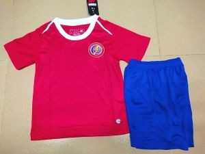 1199174f2 2018 World Cup Youth Kit Costa Rica Home Replica Red Suit  CFC69 ...