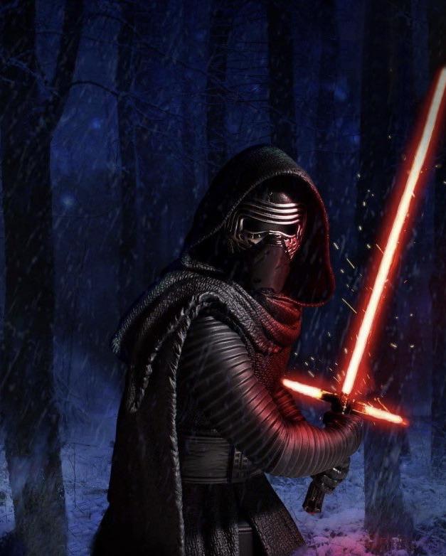 Kylo Ren Disney Figurine Edit Star Wars Episode Vii Star Wars Collection Star Wars Kylo Ren