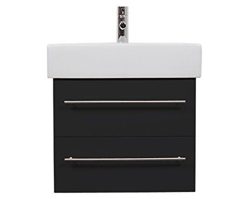 Vasque Duravit Vero 60 Cm + Meuble Emotion24 Noir Satiné: Price