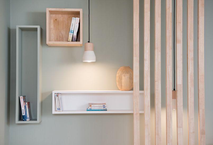 ambiance scandinave, aménagement, lyon, décoration, meuble sur - meuble vide poche design