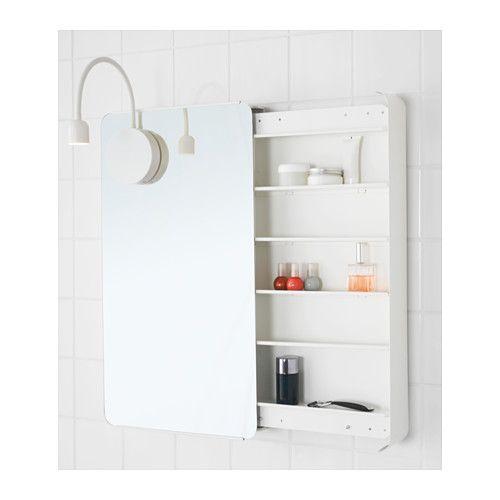 BRICKAN Mirror Cabinet, White
