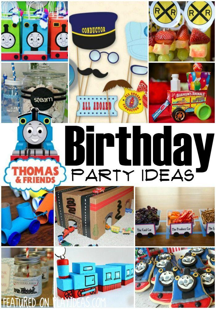 25 thomas the train party ideas birthdays. Black Bedroom Furniture Sets. Home Design Ideas
