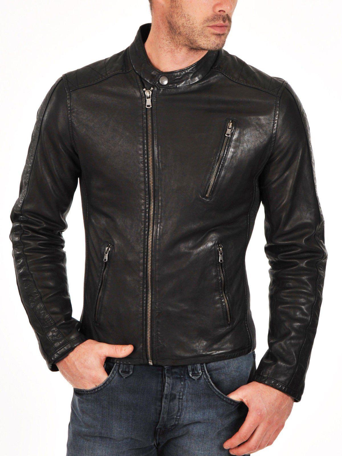 Culbert Men Leather jacket 가죽자켓