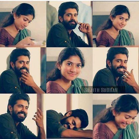 Cute expressions SaiPallavi Nivin nivinpauly Premam