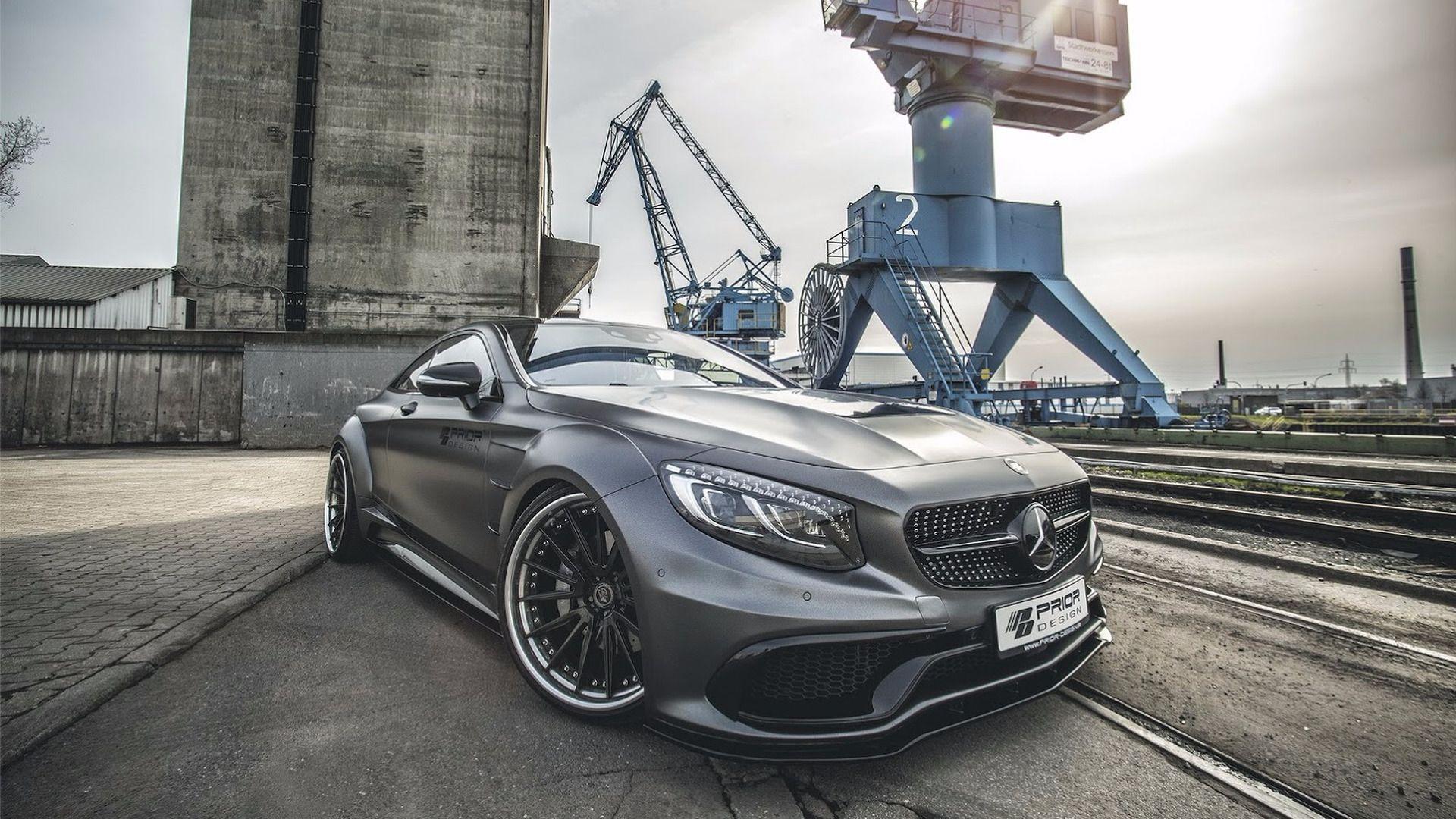 La Mercedes Classe S Coupé gonflée à bloc par Prior-Design