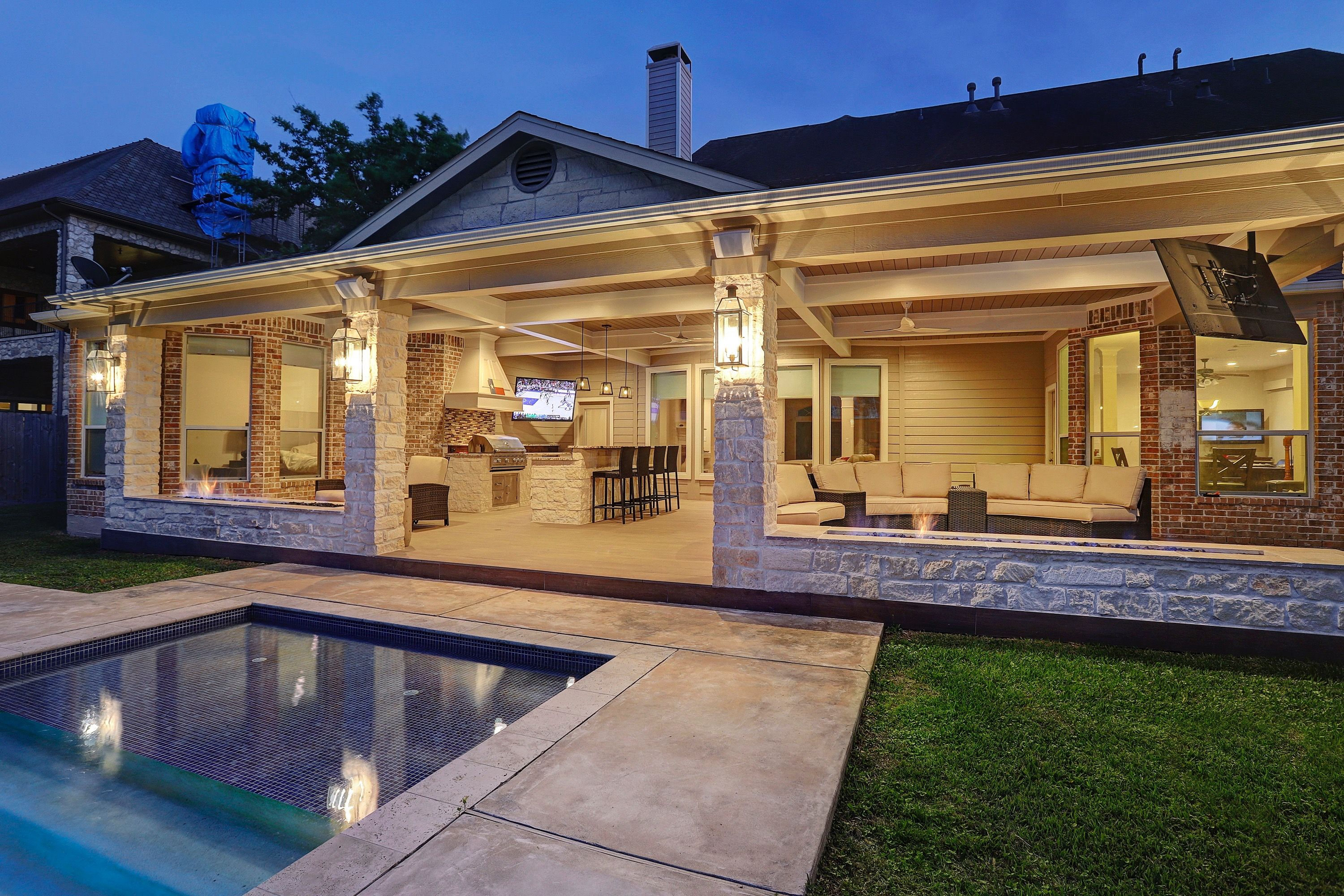 Outdoor living, patio cover, attached patio cover, tongue ... on Attached Outdoor Living Spaces id=74657
