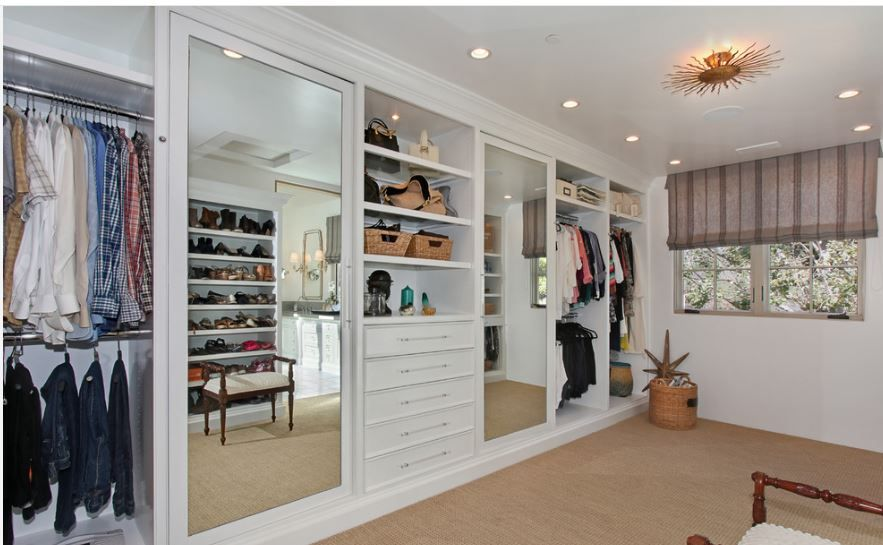 This Huge Closet Can Hold All A Couples Clothes And Then Some!