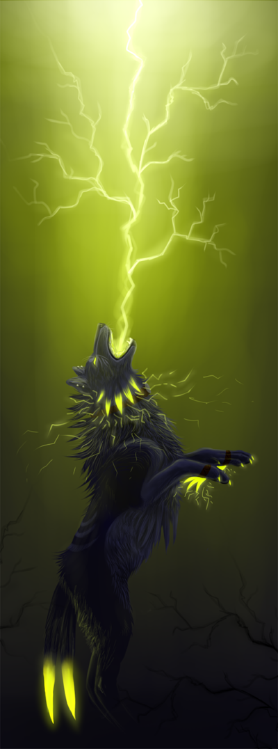 Photo of The big bad electric wolf by WolfsECHO on DeviantArt