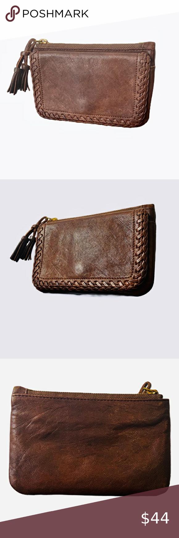 Hp Vintage Bergdorf Goodman Wallet Vintage Clothes Design Snap Pocket
