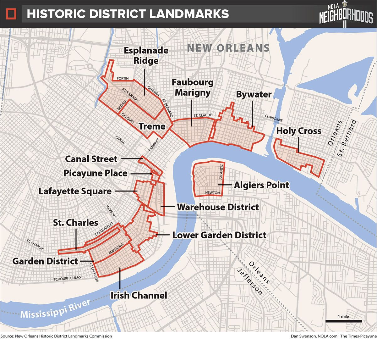 How Do We Map New Orleans? Let Us Count The Ways. (With