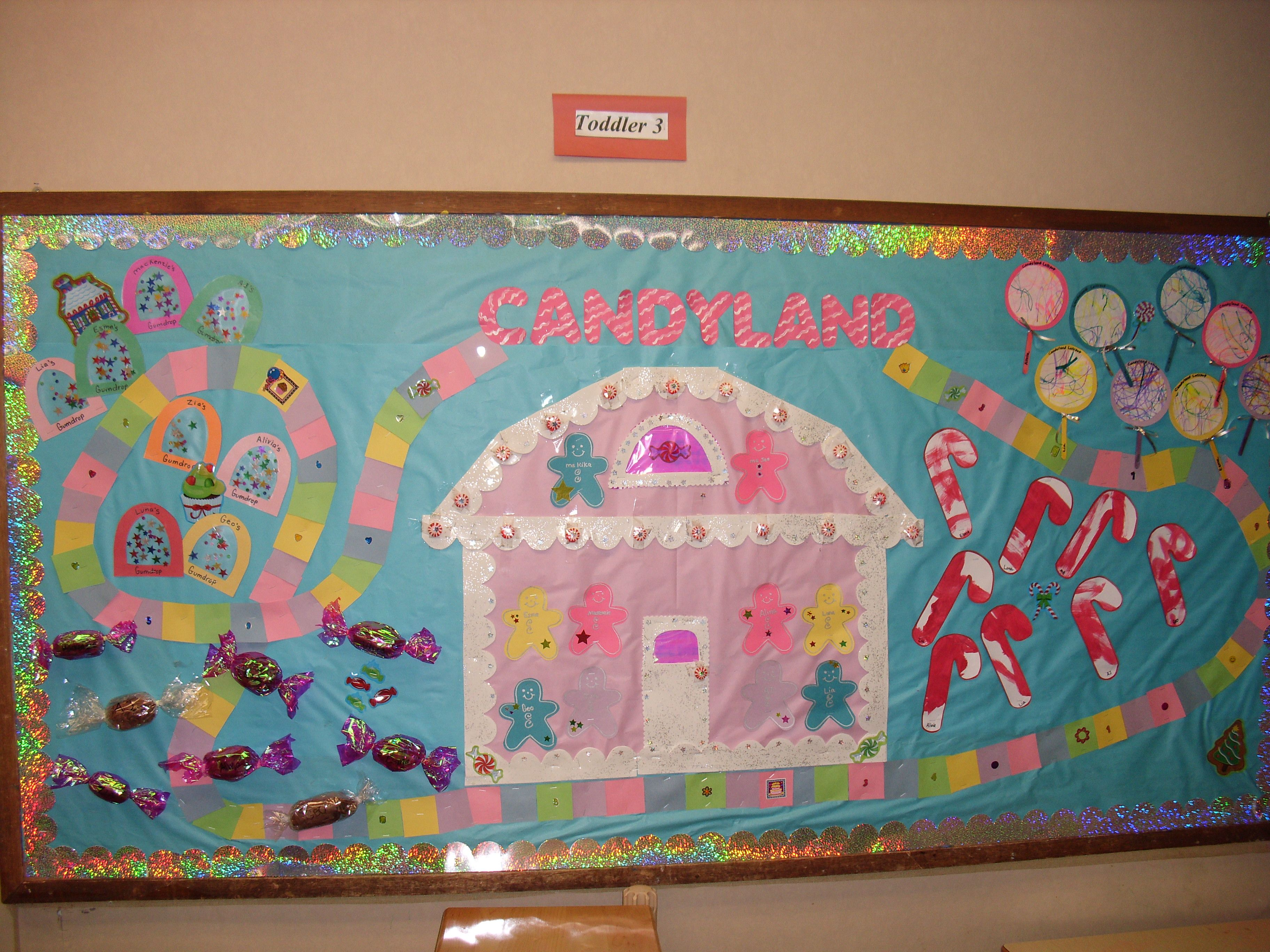 CANDYLAND BULLETIN BOARD: Pretodd Activities to create the ...