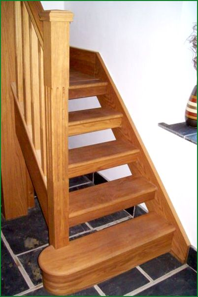 Best High View American White Oak Stairs With Images Oak 400 x 300