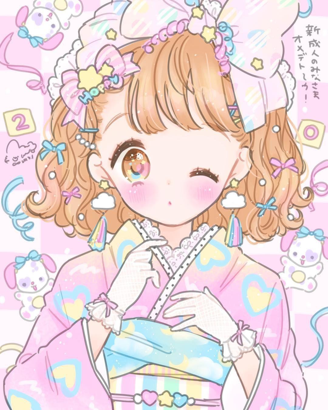 Cute Anime Wallpapers: Pin By ™�Barbie Stargirl♡ On KaWaii♡ In 2019
