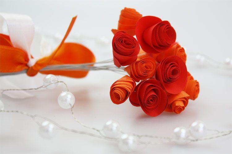 Blumen Basteln Aus Papier blümchen aus papier bastelanleitung https deindiy de blumen