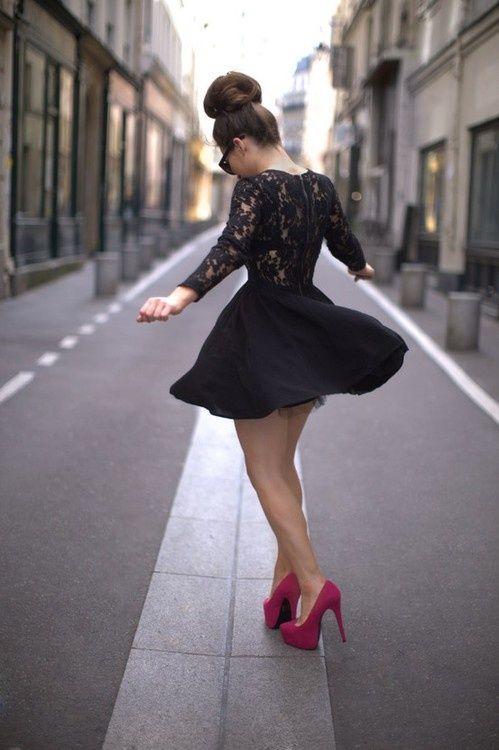 black dress tumblr - Pesquisa Google | Look Party | Pinterest ...