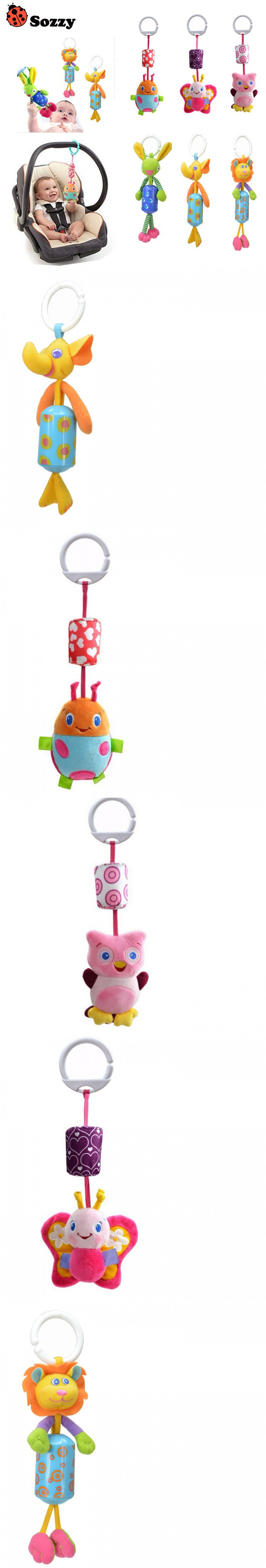 Baby bed mobile - Hot Sale New Infant Toys Mobile Baby Plush Toy Bed Wind Chimes Rattles Bell Toy Stroller