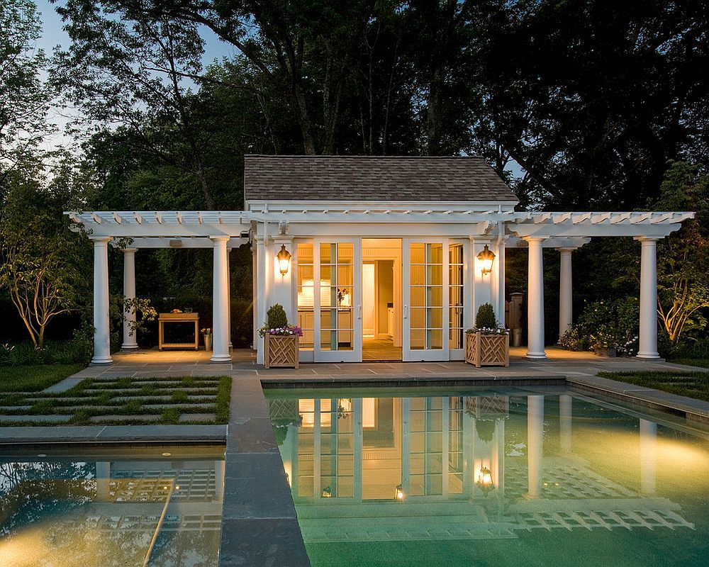 25 Pool Houses To Complete Your Dream Backyard Retreat Small