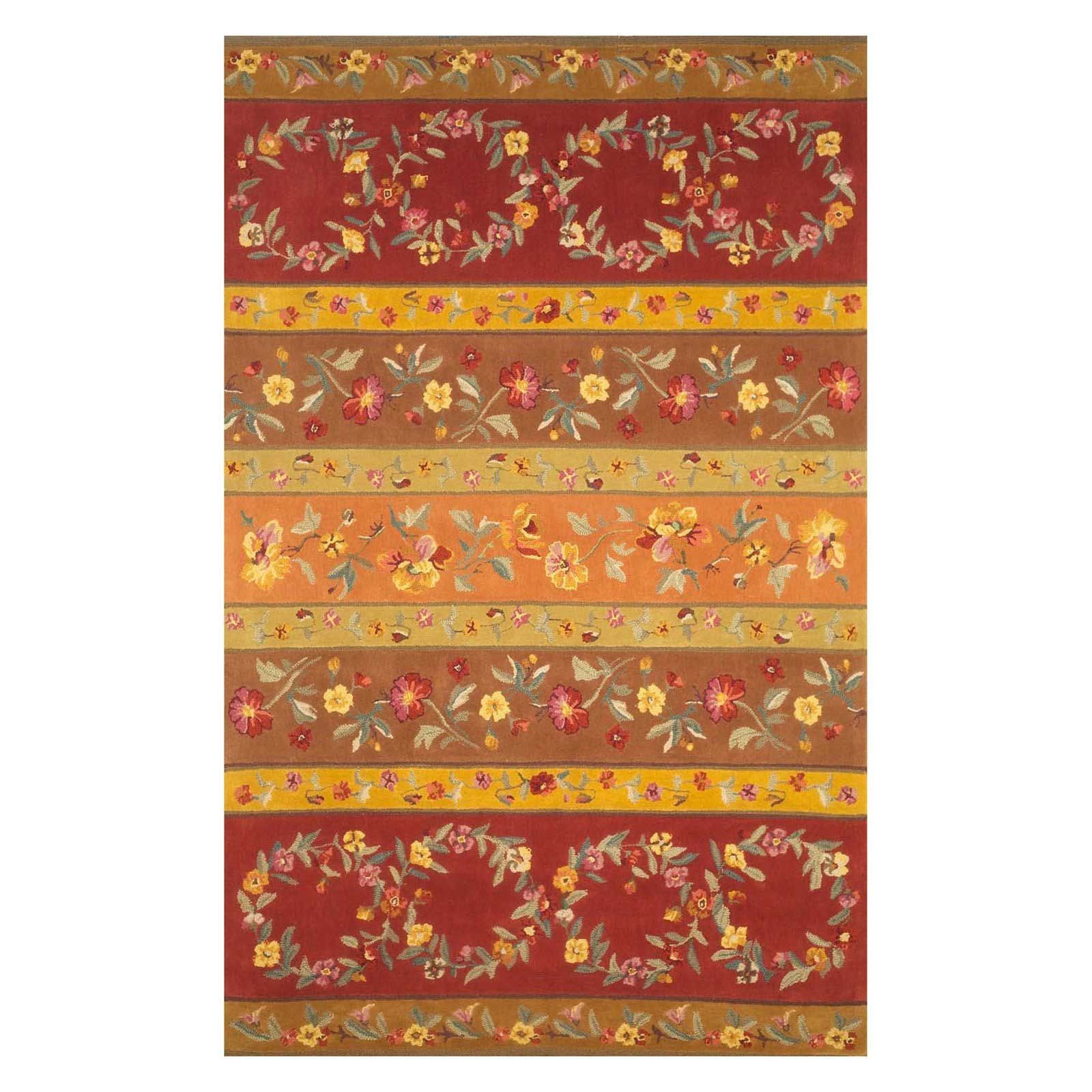 Tuscan Style Area Rugs For Decorating Your Floors In Elegant