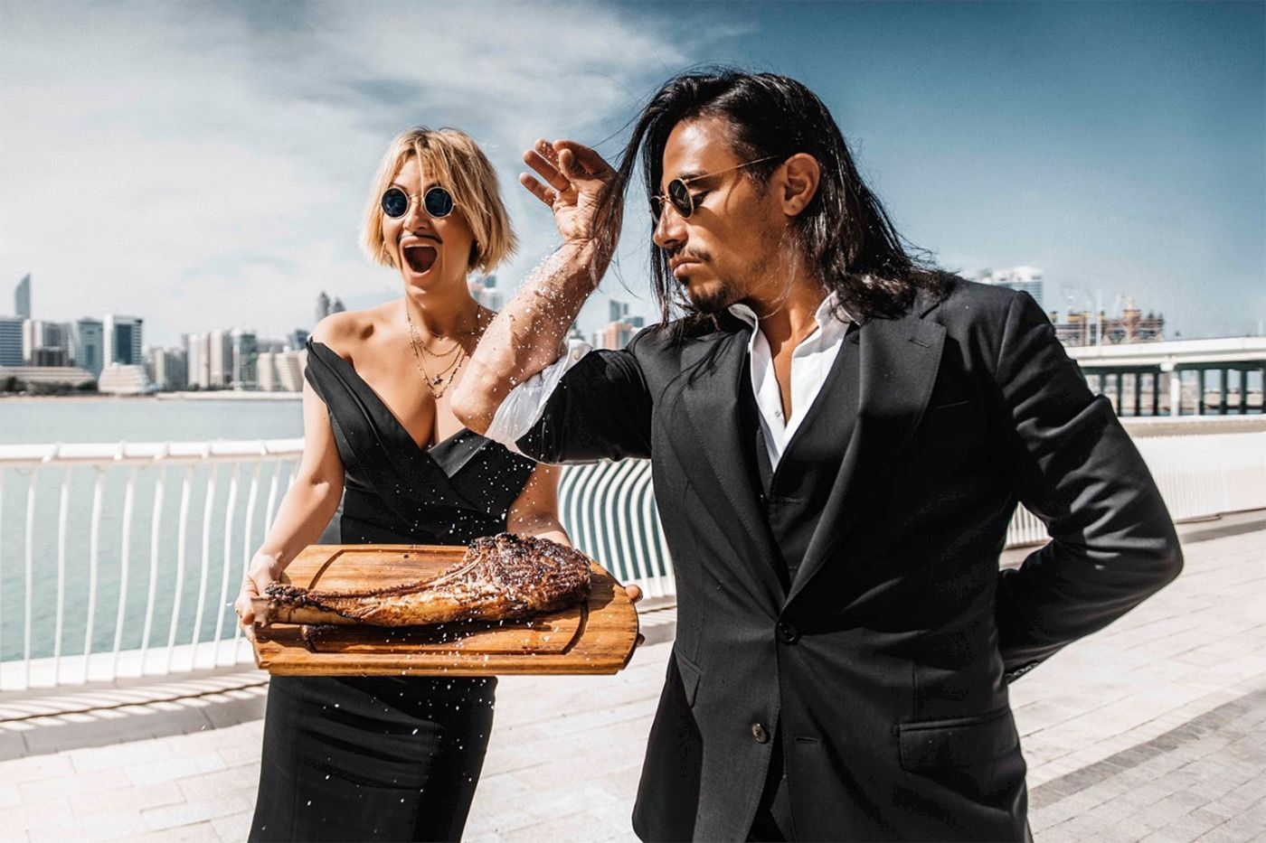 Salt Bae's New York Steakhouse Opens Today, #Baes #Opens #Salt #Steakhouse #Today #York