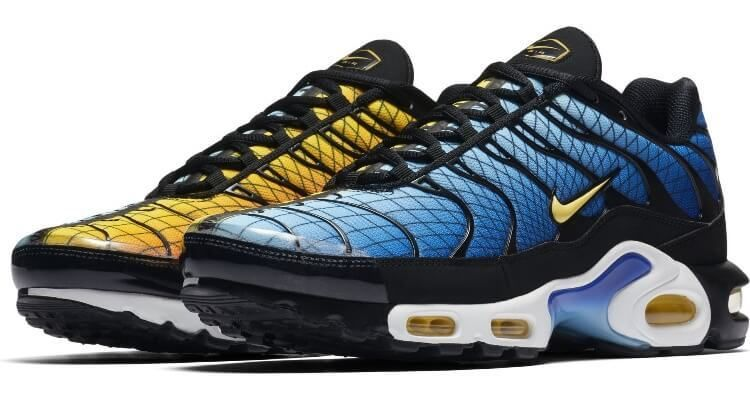 mostrador petrolero Nominal  Foot Locker Unveils Nike 'Home & Away' Collection | Nike air max plus, Nike  air max, Sneakers blue